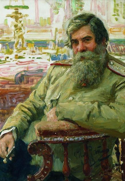 Портрет В.М.Бехтерева. 1913. Государственный русский музей.