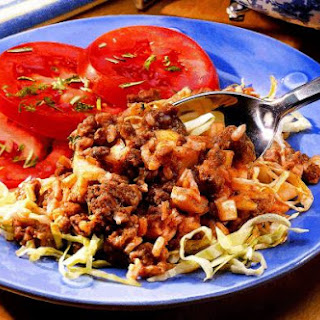 Hamburger Cabbage Casserole Recipe