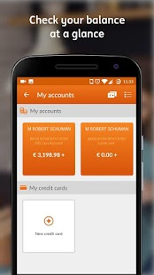 ING Smart Banking - náhled