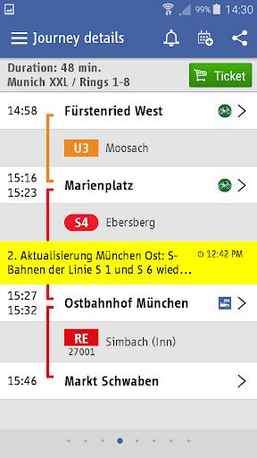 MVG Fahrinfo München 6.6.0_247 screenshots 3