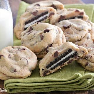Oreo Stuffed Chocolate Chip Cookies Recipe