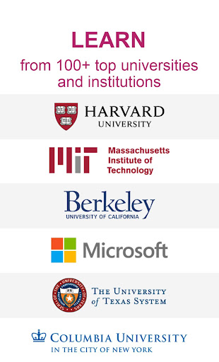 edX: Online Courses by Harvard, MIT, Berkeley, IBM Apk 1