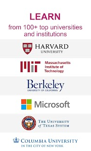 edX: Online Courses by Harvard, MIT, Berkeley, IBM Screenshot