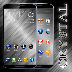 Crystal Free Go Launcher Theme