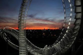 Photo: Sonnenuntergang mit Tiger & Turtle