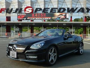 SLK R172 SLK200 Blue Efficiency AMGスポーツパッケージ 2014年式のカスタム事例画像 もり〜さんの2018年08月02日17:45の投稿