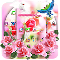 Pink Rose Flower Love icon
