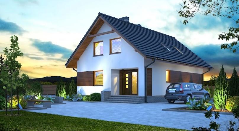 Projekt domu Gładyszów 3