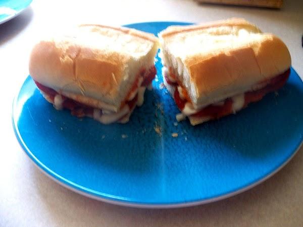 Toaster Oven Pizza Sandwiches Recipe