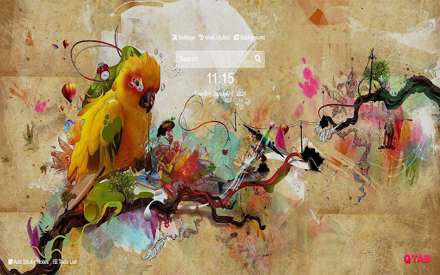 Parrot Wallpapers Parrot New Tab HD