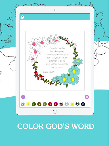 Bible Coloring - Bible Color by Number, Bible Game 20.0 screenshots 13
