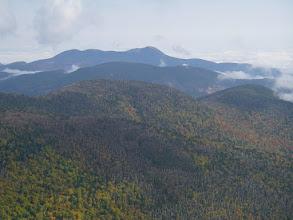 Photo: Three Sisters and Mount Chocorua.