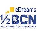 eDreams Mitja Marató Barcelona icon