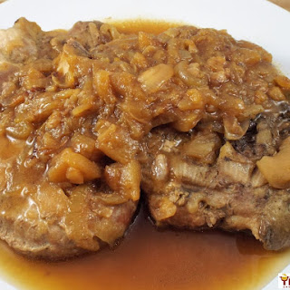 Braised Pork Chops with Apples and Sage Recipe