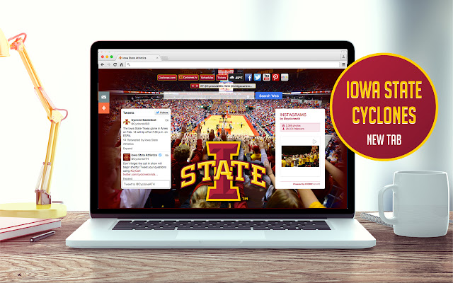 Iowa State University New Tab