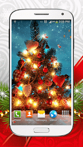 Christmas Live Wallpaper screenshot 0