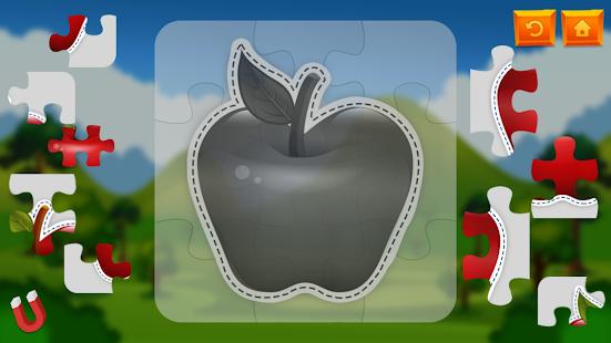 Jigsaw Fruit Kids Puzzle - náhled