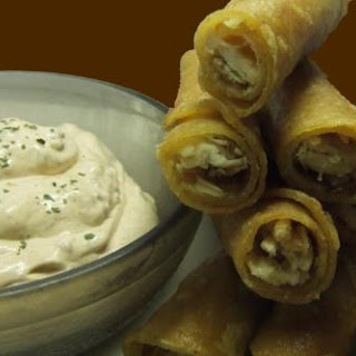 Soft Chicken Taquitos & Southwestern Dip