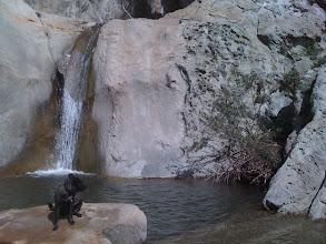 Photo: Malia at the falls & pools in Santa Brabara, CA