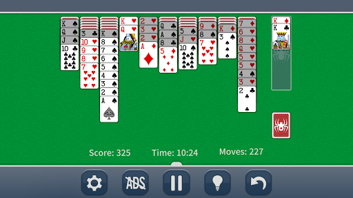 Spider Solitaire Classic apkpoly screenshots 3