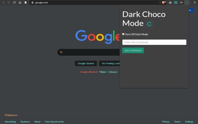 Dark Choco Mode