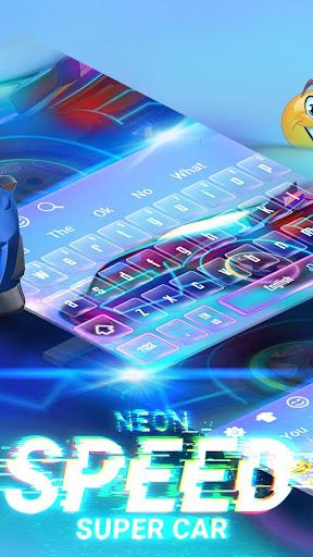 Speedy Sportscar Keyboard 10001006 screenshots 2