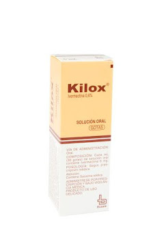 Kilox 0.6% Gotas Frasco   X5Ml. Bussié Ivermectina