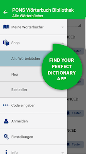 PONS Dictionary Library - Offline Translator- screenshot thumbnail