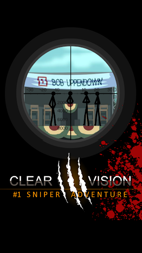 Clear Vision 3 -Sniper Shooter screenshot 13