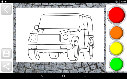 Cars Coloring Book Game Games Apk Free Download For Android PC Windows
