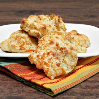 Dill and Cheddar Drop Biscuits