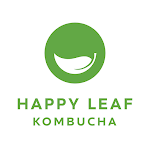 Logo of Happy Leaf Kombucha Orange Basil