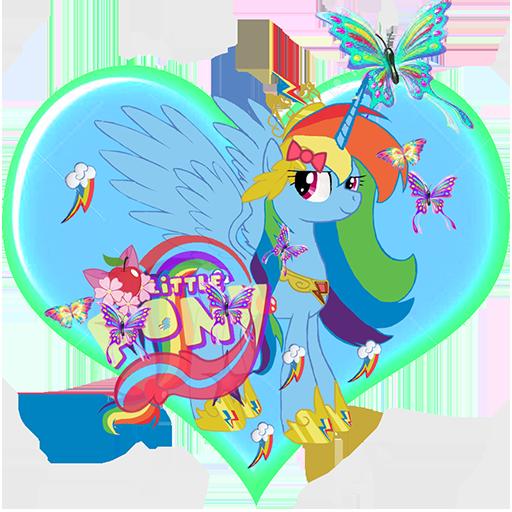 Rainbow Dash My Litle Pony Run