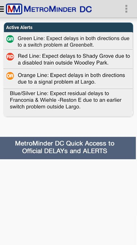 MetroMinder DC- screenshot