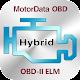 Doctor Hybrid ELM OBD2 scanner. MotorData OBD para PC Windows