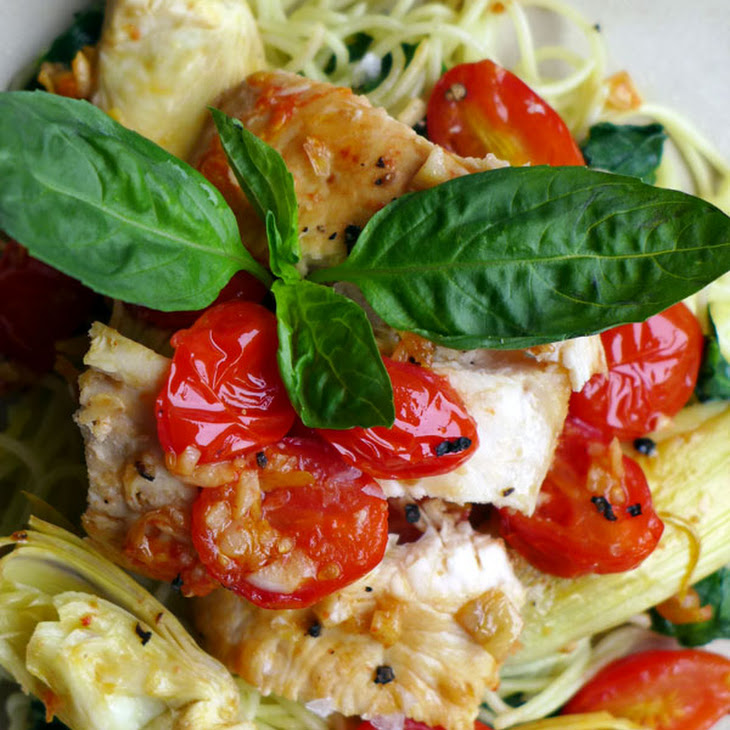 Tuscan Lemon Chicken for Two Recipe