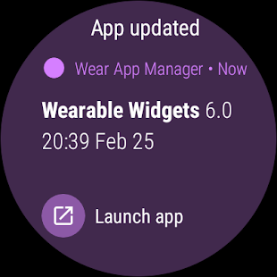 Wear App Manager- screenshot thumbnail