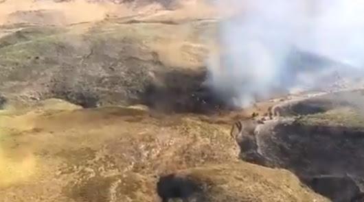 Declarado un incendio forestal en Bentarique