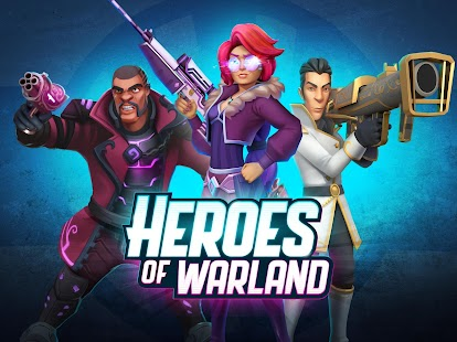 Heroes of War - Fun FPS action game w/ PvP shooter Screenshot