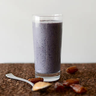 Peanut Butter & Jelly Date Smoothie.