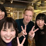 meeting Reformatt fans from Nagoya, Japan at Yum Cha in Hong Kong in Hong Kong, , Hong Kong SAR