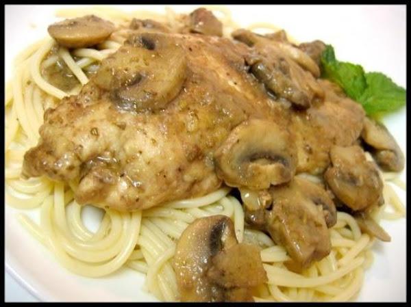 Chicken With Marsala, Mushrooms And Gorgonzola Recipe