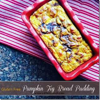 Paleo and Vegan Pumpkin and Fig Bread Pudding. Plus Why We Might Need Carbs During Fall Season.