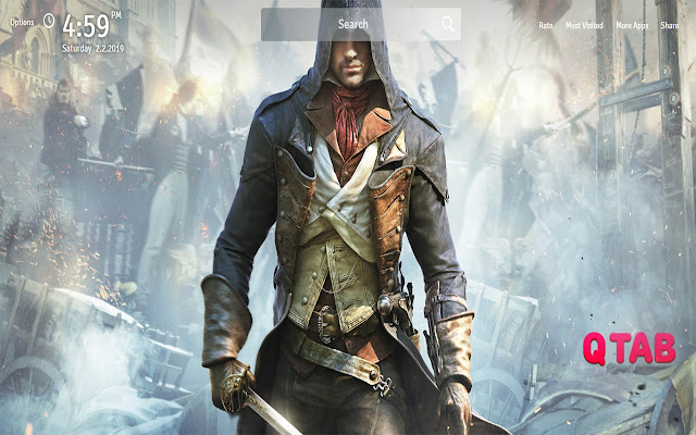 Assassins Creed Unity Wallpapers New Tab