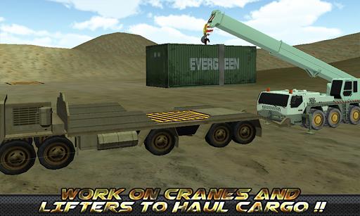 玩免費模擬APP 下載軍用卡車貨物運輸3D app不用錢 硬是要APP