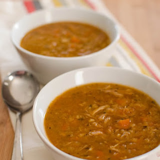 Chicken and Lentil Soup.