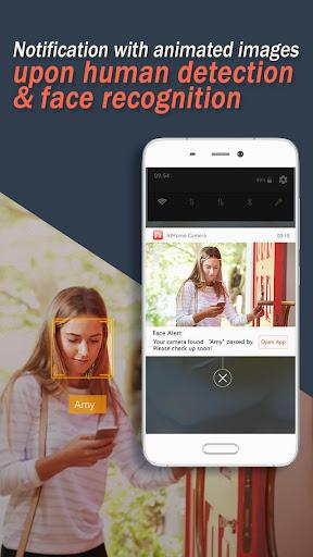 AtHome Camera - phone as remote monitor screenshots 2