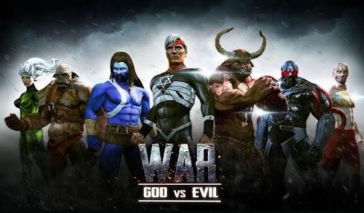 bůh vs zla války - náhled