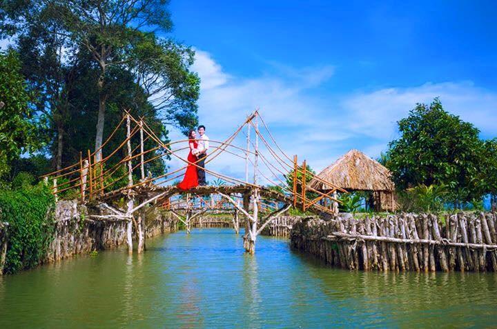 Khu sinh thái ở TPHCM - Tứ Phương Thất Đảo