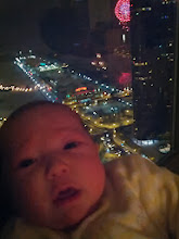 """Photo: Alex """"enjoys"""" the New Year's Eve fireworks at Navy Pier..."""